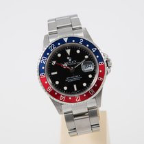 Rolex GMT Master II Pepsi top condition box and papers