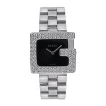 """Gucci 3600 """"G"""" Watch in Stainless Steel with Custom..."""