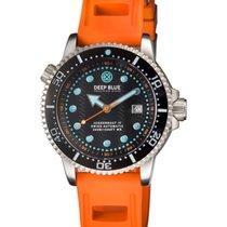 Deep Blue Juggernaut IV Automatic Diver Watch Swiss Mvt Black...