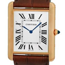 "Cartier ""Tank Louis Cartier XL"" Mechanical Strapwatch."