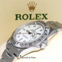ロレックス (Rolex) Explorer II Stainless Steel White Dial Automatic...