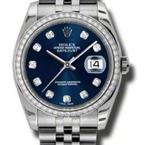 Rolex Datejust 36mm - Steel White Gold Diamond Bezel - Jubilee