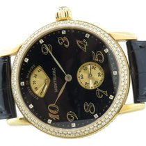 Montblanc Meisterstuck Ref 7007 Solid 18k Yellow Gold With...