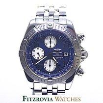 Breitling Chronomat Evolution Blue Dial A13356