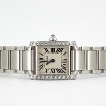Cartier Tank Française diamonds