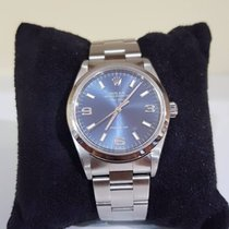 Rolex Air King Precision blue - paper and box - 2004
