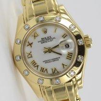Rolex Datejust Pearlmaster Gelbgold 69318