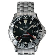 Omega Seamaster Diver 300 M GMT 50 Years Anniversary on...