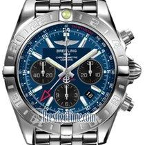 Breitling Chronomat 44 GMT ab042011/c852-ss