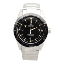 Omega Seamaster Stainless Steel Black Automatic 233.30.41.21.0...