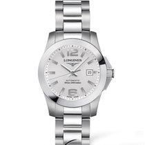 Longines Conquest Automatic Silver Dial 30mm R