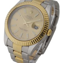 Rolex Used 116333_champ_stick_used Mens 2-Tone Datejust II...