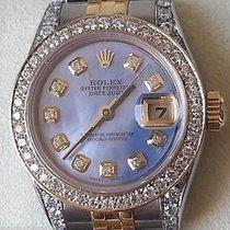 ロレックス (Rolex) Ladies Datejust Two Tone Mother Of Pearl Diamond...