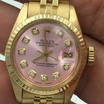 Rolex Datejust 18 K President Lady 26 Mm Ref 6917 Jubilee Band...