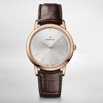 Zenith ELITE CLASSIC Rose Gold-Silver Dial 39mm 182290679-01C498