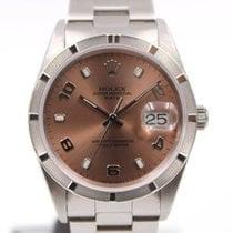 Rolex Date 15210 Dial Bronze Box & Papers