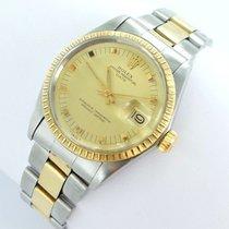 Rolex Date Herren Damen Uhr - Ref.1505 Oysterband 34mm...