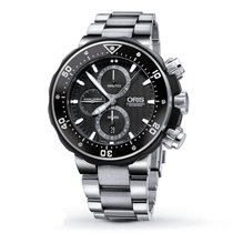 Oris Men's 774 7683 7154-SET  ProDiver Chronograph Watch