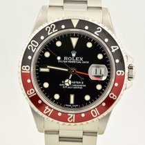 Rolex Gmt-master II Coke Stainless Steel 16710 Excellent