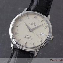 Omega De Ville Chronometer Automatik Edelstahl Herrenuhr Datum