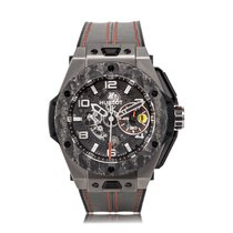 Hublot Big Bang Ferrari Titanium Mens Watch 401.NJ.0123.VR