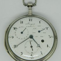Breguet , Paris - calandar, verge pocket watch - ca 1870