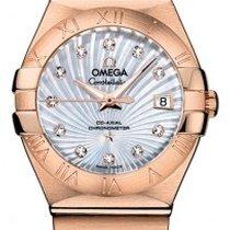 Omega Constellation Oro Rosa 27 Mm - 123.50.27.20.55.001