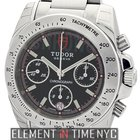 Tudor Chronograph Stainless Steel Black Dial 41mm Ref. 20300