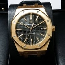 Audemars Piguet 15400OR Royal Oak 18K Pink Rose Gold Automatic...