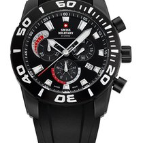 Swiss Military SM34031.02 Chronograph 10 ATM, 44 mm