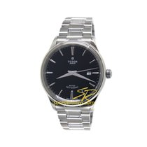帝陀 (Tudor) STYLE Black Dial Automatic Stainless Steel 41mm...