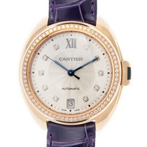 Cartier Clé De Cartier 18 K Rose Gold With Diamonds Silvery...