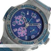 Hublot Big Bang Pop Art Steel Blue Stahl 341.SL.5199.LR.1907.P...