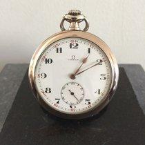 歐米茄 (Omega) Silver Omega - Men - around 1920 - pocket watch