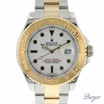 Rolex Yachtmaster 40 Rolesor White
