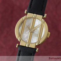 Piaget Lady 18k (0,750) Gold Polo Damenuhr Ronde Ref 8243...