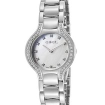 Ebel 9003N18/991050 New Beluga Mini in Steel with Diamond...