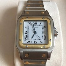 Cartier Santos Automatic Gold Steel