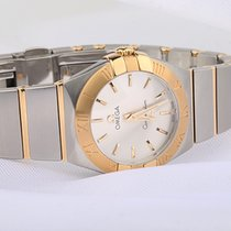 Omega Constellation Brushed Stahl Gold ungetragen