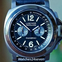 Panerai PAM 192 Luminor Tantalium Chronograph Lamania Movement...