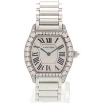 Cartier Tortue 18k White Gold & Diamonds 2644