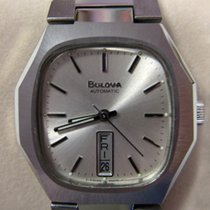 Bulova Day Date Ss Great Watch Extremely Rare New Old Stock