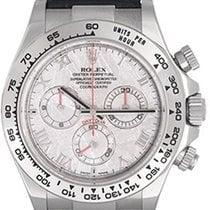 Rolex Cosmograph Daytona Men's White Gold Watch Meteorite...