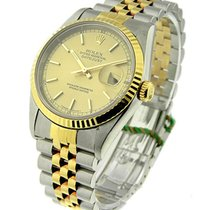 Rolex Used 16233_champ_stick_used Mens 2-Tone Datejust with...