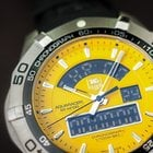 TAG Heuer Aquaracer 300m Chronotimer Yellow