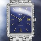 Longines Flagship Mens Swiss Made White Gold-plated Dress...