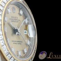 Rolex Oyster Perpetual Datejust Lady Tridor mit Diamantzifferb...