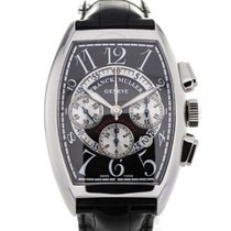 Franck Muller Chronograph Black Dial Chronograph Date