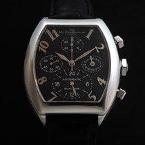 Van Der Bauwede Magnum Dual Time Cal. 40 White Gold 18k