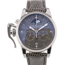 Graham Chronofighter Lady Moon 36 Moon Phase Grey Dial